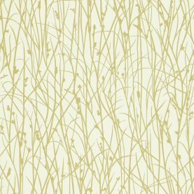 Grasses wallpaper - ecru / celery (110154)
