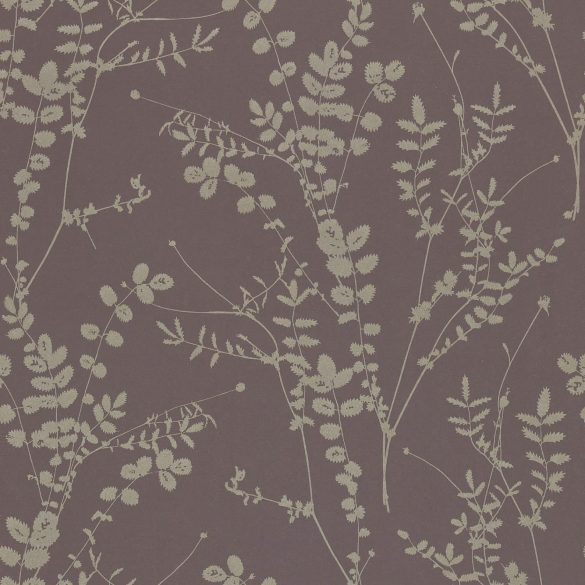 Salvia wallpaper - zinc / pewter (110157)