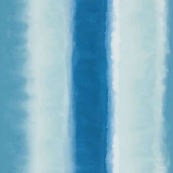 Demeter Stripe wallpaper - indigo / ice / french navy (110188)