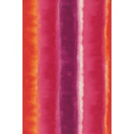Demeter Stripe wallpaper - magenta / fuchsia / flame (110191)