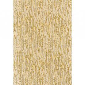 Grasses silk dupion fabric - putty / hopsack (120020)