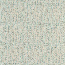 Beads fabric - natural / aqua / pebble (120043)