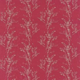 Salvia silk dupion fabric - hot pink / pebble (130246)