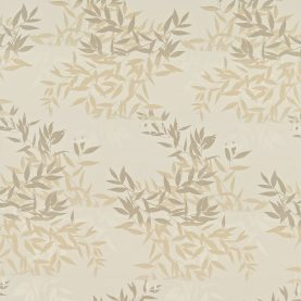 Olea cotton fabric - putty / honeycomb (130263)