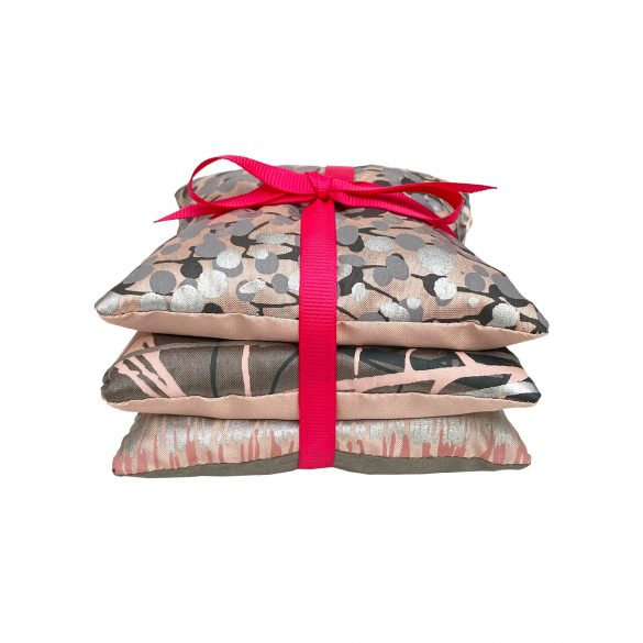 Lavender bags - set of 3 - oyster / neutral