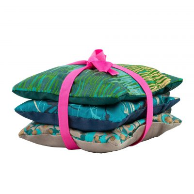 Lavender Bags - set of 3 - midnight / kingfisher / peacock