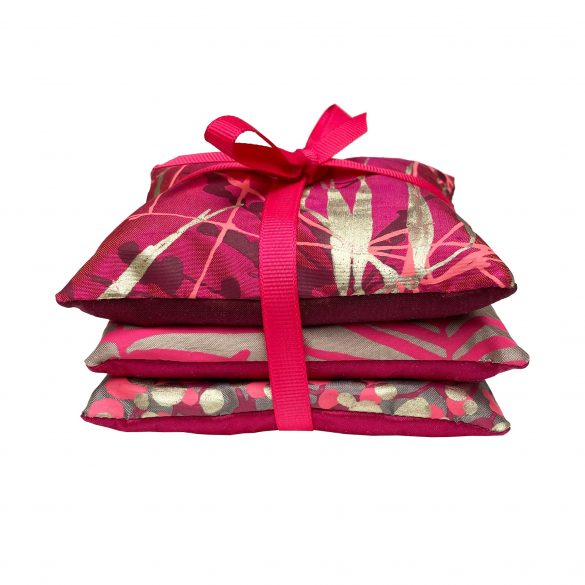 Lavender Bags - set of 3 - pink