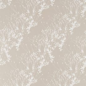 Burnet silk fabric - oyster / chalk (120564)