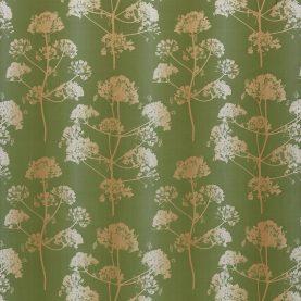 Angeliki fabric - emerald / gold (131934)