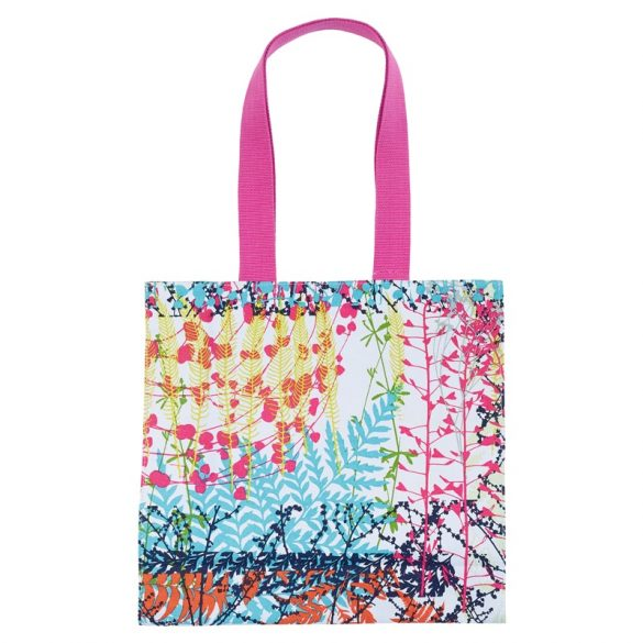 Backing Cloth canvas tote bag - white / multi