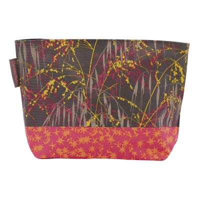 Large wash bag - Meadow Grass - sunrise