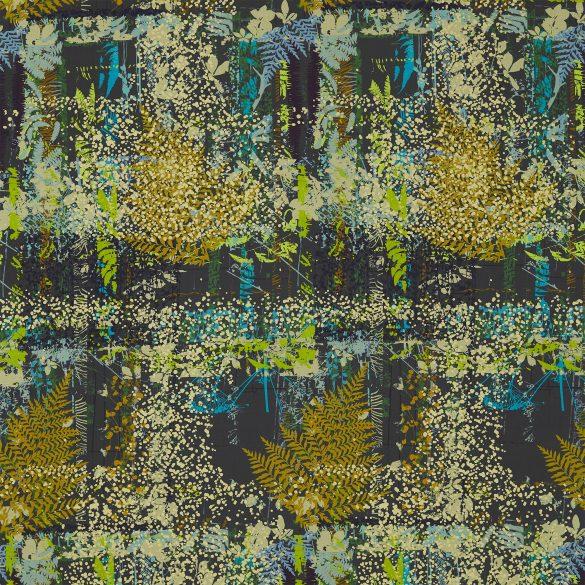 Kismet fabric - sepia / citrus / ocean (120556)