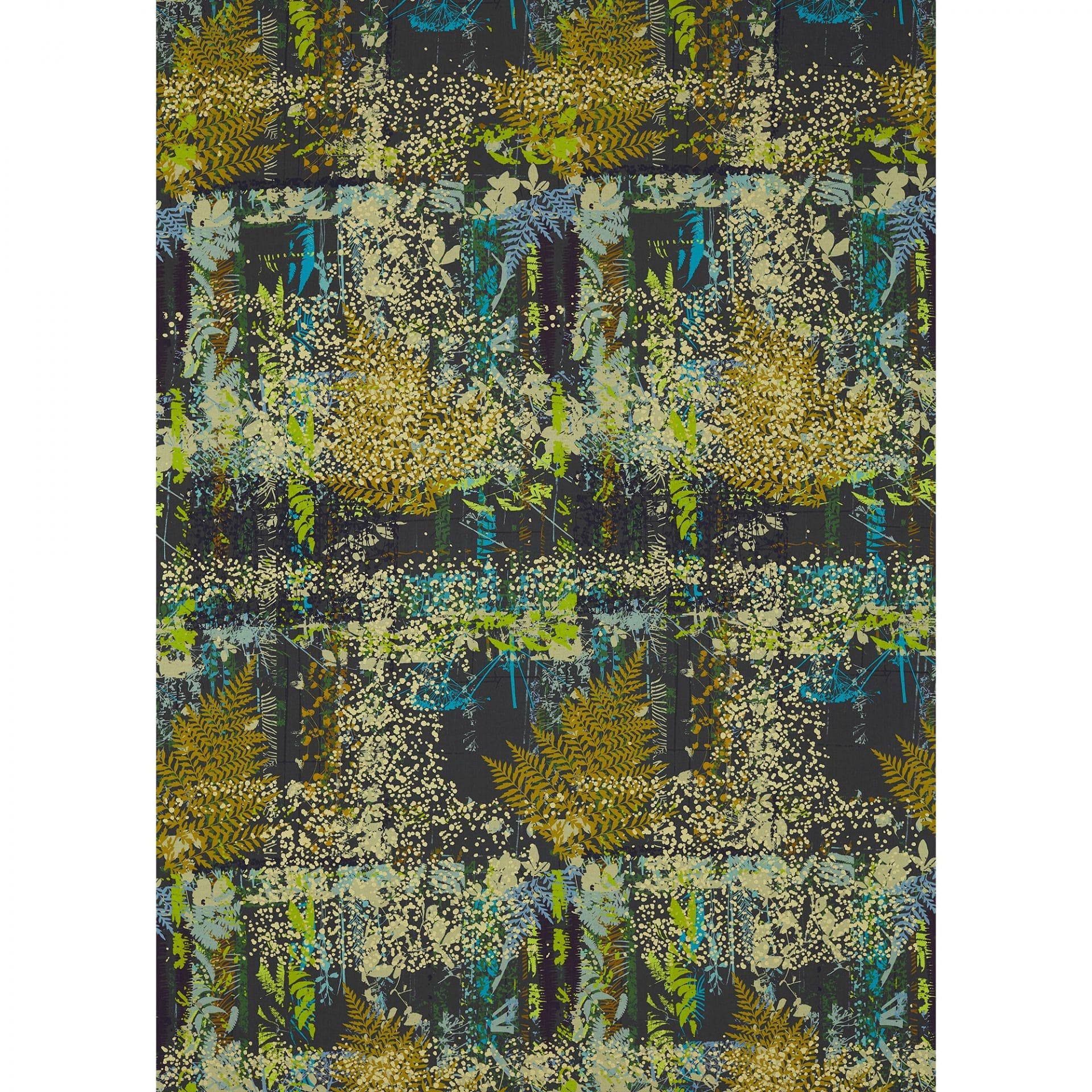 Kismet Fabric Sepia Citrus Ocean 120556 Clarissa