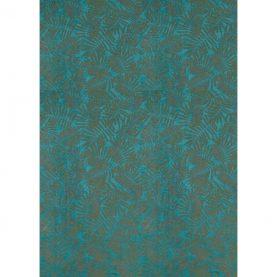 Espinillo velvet - teal / brass (132469)
