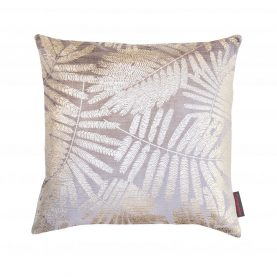 Espinillo velvet cushion - smoke / frost