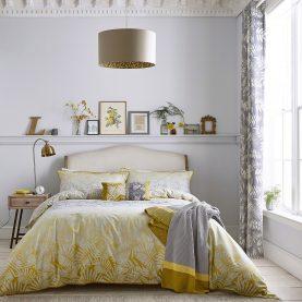 Espinillo bed linen - turmeric