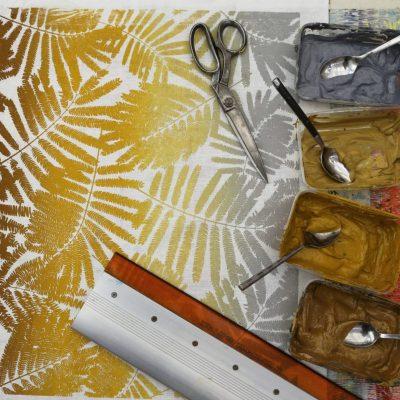 Espinillo turmeric printing 1
