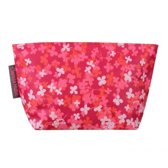 Small wash bag - scatter petal - pink