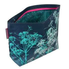 Large wash bag - dill - blue