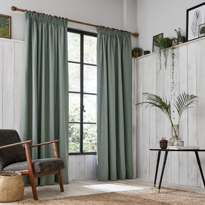 CLARISSA HULSE Chroma Grey curtains main