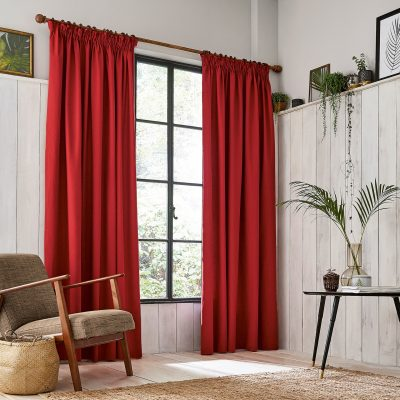 CLARISSA HULSE Chroma Paprika curtains main