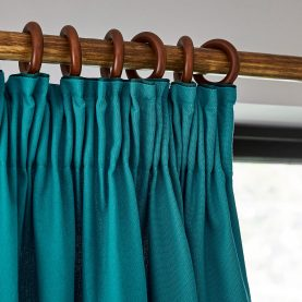 Chroma Curtains - teal