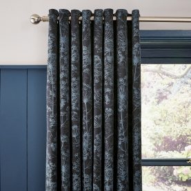 Dill Curtains - dark blue