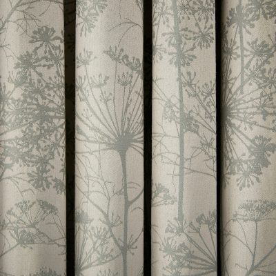 CLARISSA HULSE Dill Natural curtains detail