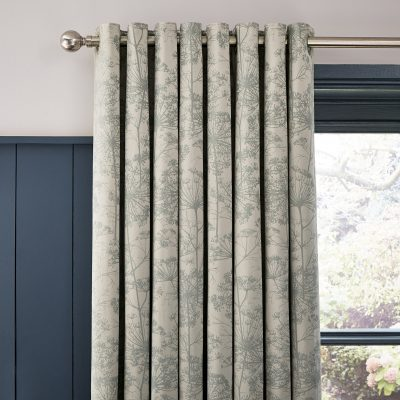 CLARISSA HULSE Dill Natural curtains header