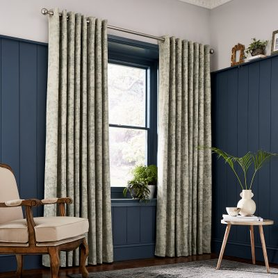CLARISSA HULSE Dill Natural curtains main