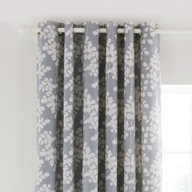 Ginkgo Collection curtains - grey