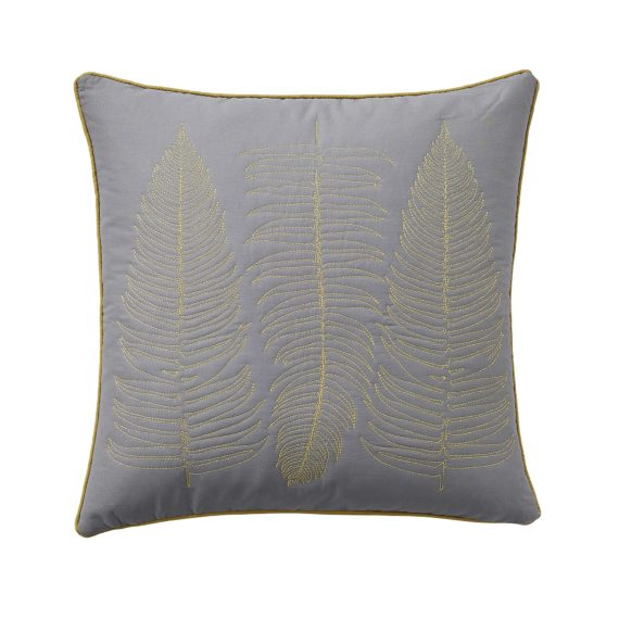 CLARISSA HULSE Ginko Patchwork cushion co2