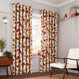 CLARISSA HULSE Ginko Spice curtains main