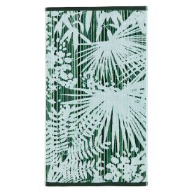 CLARISSA HULSE Rainforest Green towel flat co