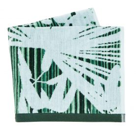 Rainforest towel - green