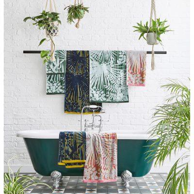 CLARISSA HULSE Rainforest towels group