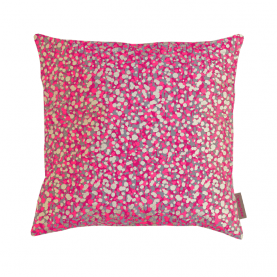 Garland fabric - storm / hot pink / gold