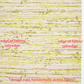 St. Lucia fabric - oyster / ochre / quince / soft gold