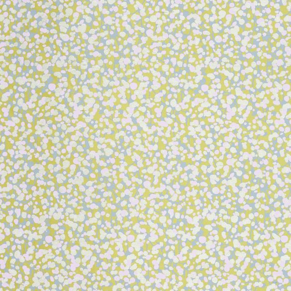 Garland silk fabric - quince / dove