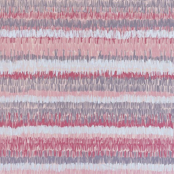 Textured Stripe silk fabric REMNANT - oyster - 55 x 137cm