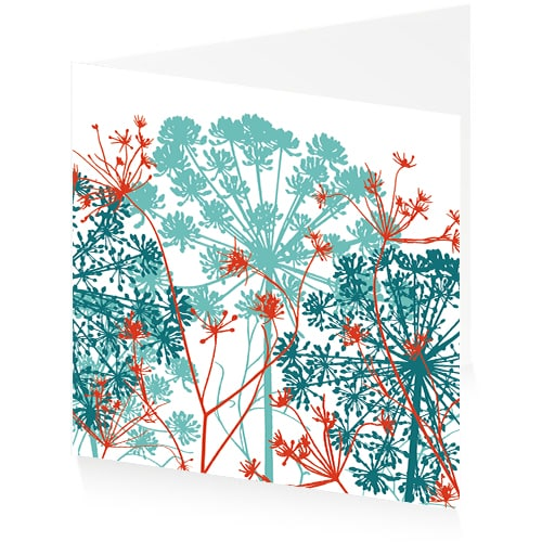 Greetings Cards - Dill