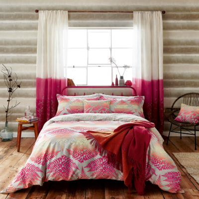 CLARISSA HULSE FILIX coral main bed