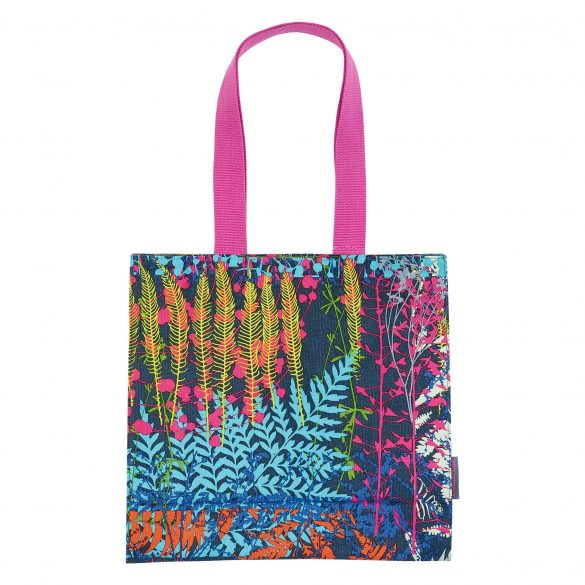 Backing Cloth canvas tote bag - navy / multi