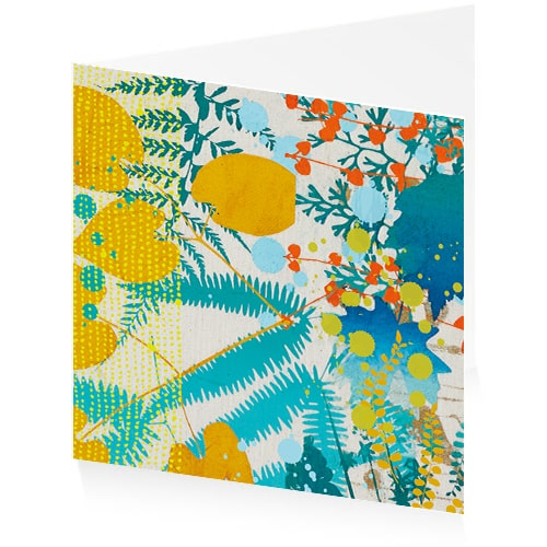 Greetings Card - Backing Cloth 2
