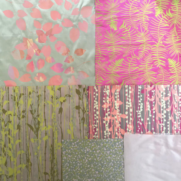Fabric bundle 147 - 154 - brights neon pastel