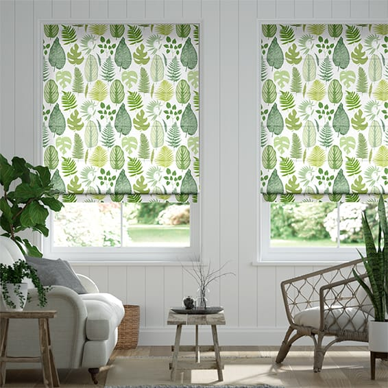 tropical-leaves-moss-36-roman-blind-1