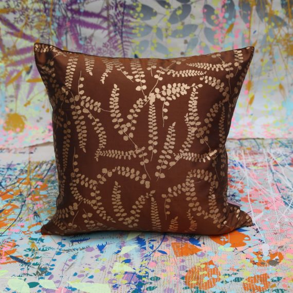 Cushion-135-silk-40x40,bronze, copper, £25