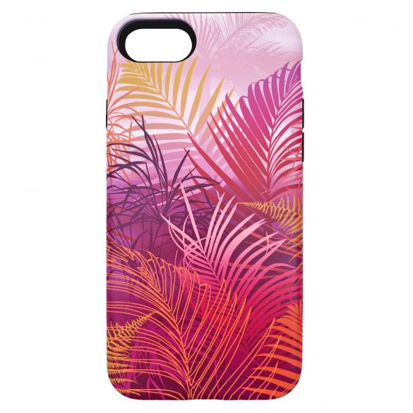 Cloud Forest phone case - fuchsia pink
