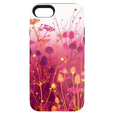 Tania's Garden phone case - fuchsia pink