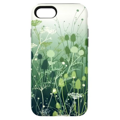 Tania's Garden phone case - ivy green